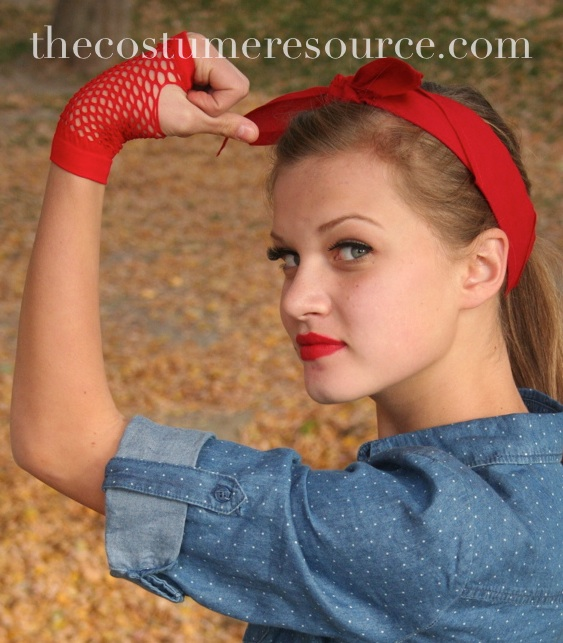 Rosie Riveter Or Lucille Ball Hair Updo Hair Instructions For