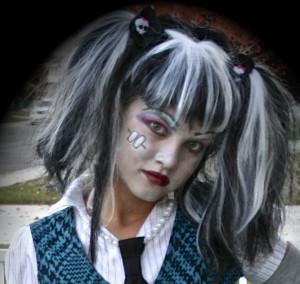 Frankie Stein Monster High Doll Makeup
