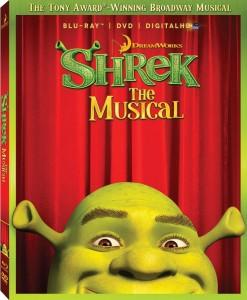 Shrek the Musical DVD