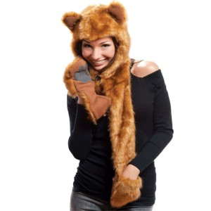 ladies fox hat