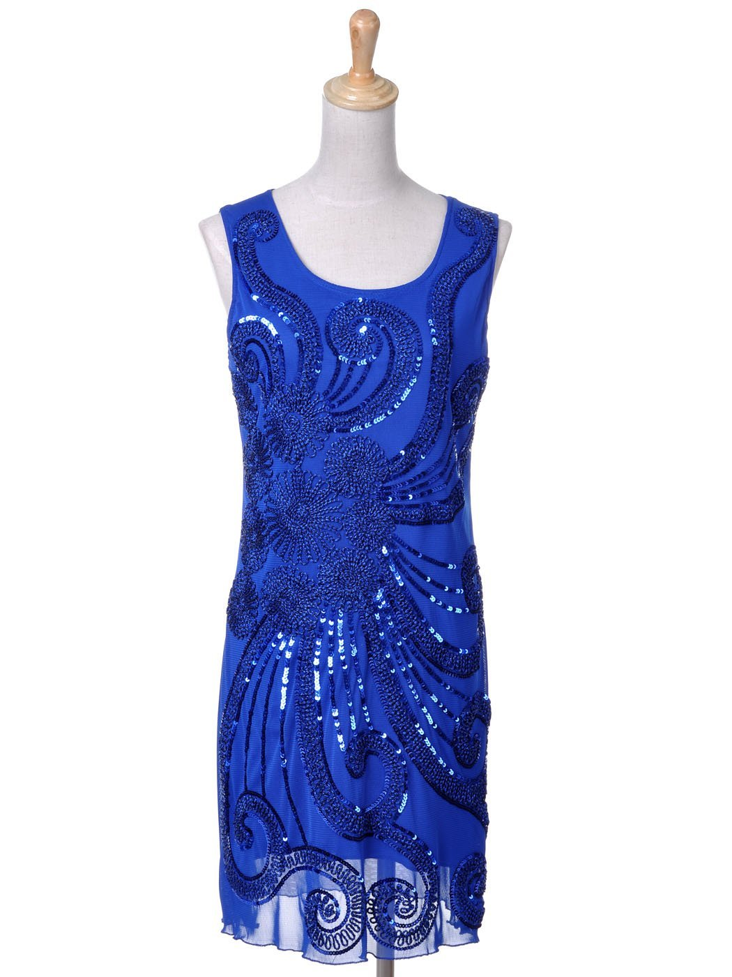 blue flapper dress » The Costume Resource