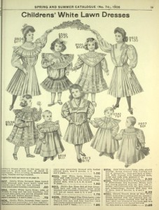 eatons childresn white lawn dresses