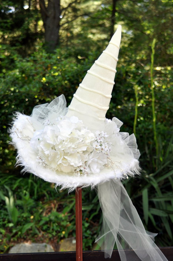 White Witch Hat The Costume Resource