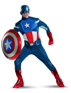 Captain America Expensive Costume