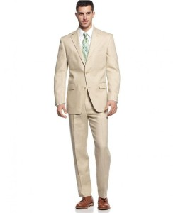 Cream Linen Suit for Gatsby